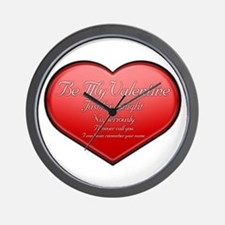 One Night Valentine Wall Clock