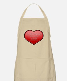 One Night Valentine BBQ Apron