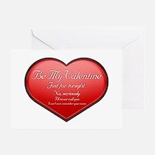 One Night Valentine Greeting Card