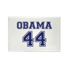 """Obama 44"" Rectangle Magnet"