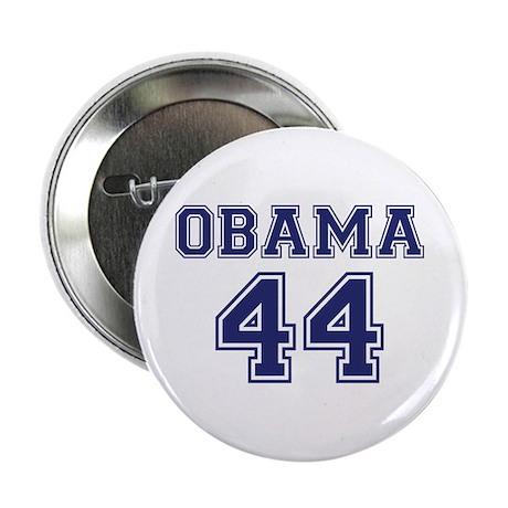 """""""Obama 44"""" 2.25"""" Button"""
