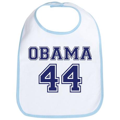 """""""Obama 44"""" Bib"""