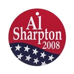 Al Sharpton 2008 Christmas Tree Ornament
