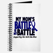 My Battle Too 1 BLUE (Mom) Journal