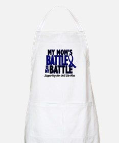 My Battle Too 1 BLUE (Mom) BBQ Apron