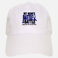 My Battle Too 1 BLUE (Mom) Baseball Baseball Cap