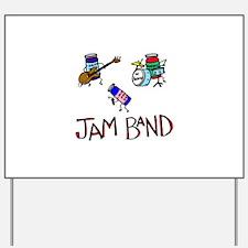 Jam Band Yard Sign