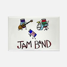 Jam Band Rectangle Magnet
