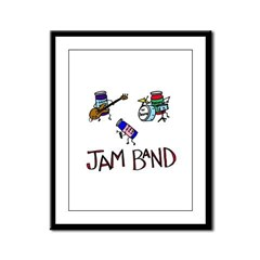 Jam Band Framed Panel Print