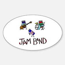 Jam Band Oval Decal