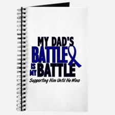 My Battle Too 1 BLUE (Dad) Journal
