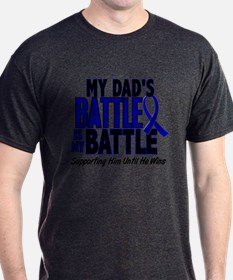 My Battle Too 1 BLUE (Dad) T-Shirt