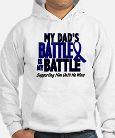 My Battle Too 1 BLUE (Dad) Hoodie
