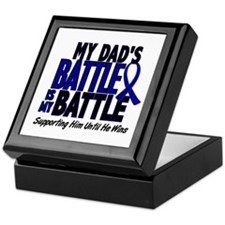 My Battle Too 1 BLUE (Dad) Keepsake Box