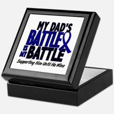 My Battle Too 1 BLUE (Dad) Keepsake Box