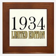 1934 Framed Tile