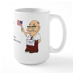Manny on the 4th Large Mug