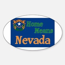 Nevada means Home Oval Decal