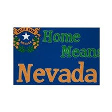 Nevada means Home Rectangle Magnet