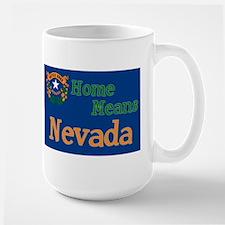 Nevada means Home Mug