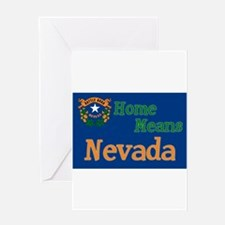 Nevada means Home Greeting Card