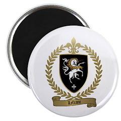 LEFRANC Family Crest Magnet