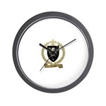 LEFRANC Family Crest Wall Clock
