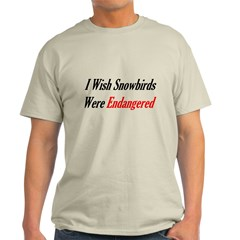 Snowbirds Endangered T-Shirt