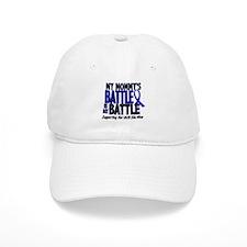 My Battle Too 1 BLUE (Mommy) Baseball Cap