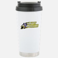 Matt Moss Cartoon Travel Mug