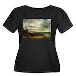 Brighton Women's Plus Size Scoop Neck Dark T-Shirt