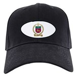 LECLAIR Family Crest Black Cap