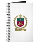 LECLAIR Family Crest Journal