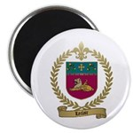 LECLAIR Family Crest Magnet