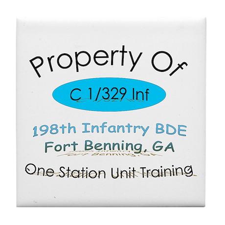 C co 1/329th prop Tile Coaster