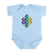 Funny Double rainbow Infant Bodysuit