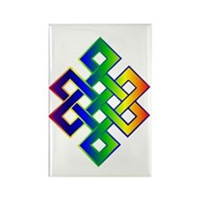 Unique Tibetan Rectangle Magnet