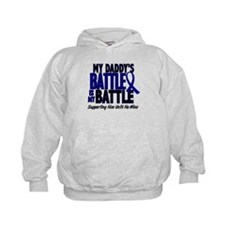 My Battle Too 1 BLUE (Daddy) Hoodie
