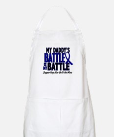 My Battle Too 1 BLUE (Daddy) BBQ Apron