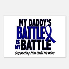 My Battle Too 1 BLUE (Daddy) Postcards (Package of