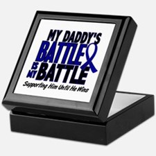 My Battle Too 1 BLUE (Daddy) Keepsake Box