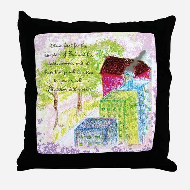 Throw Pillows With Scripture : Scripture Art Pillows, Scripture Art Throw Pillows & Decorative Couch Pillows