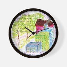 Seek ye first the Kingdom Wall Clock