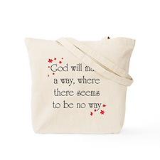 Seek ye first the Kingdom Tote Bag