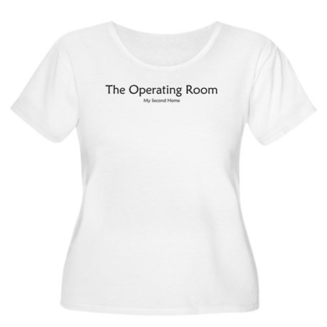 OR 2nd home Women's Plus Size Scoop Neck T-Shirt