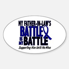 My Battle Too 1 BLUE (Father-In-Law) Decal