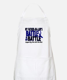 My Battle Too 1 BLUE (Father-In-Law) BBQ Apron