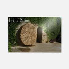 He is Risen! Rectangle Magnet