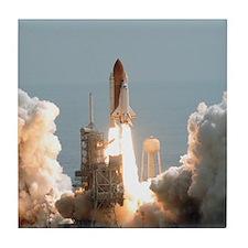 Space Shuttle Launch Tile Coaster
