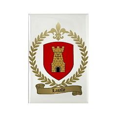 LASALLE Family Crest Rectangle Magnet (100 pack)